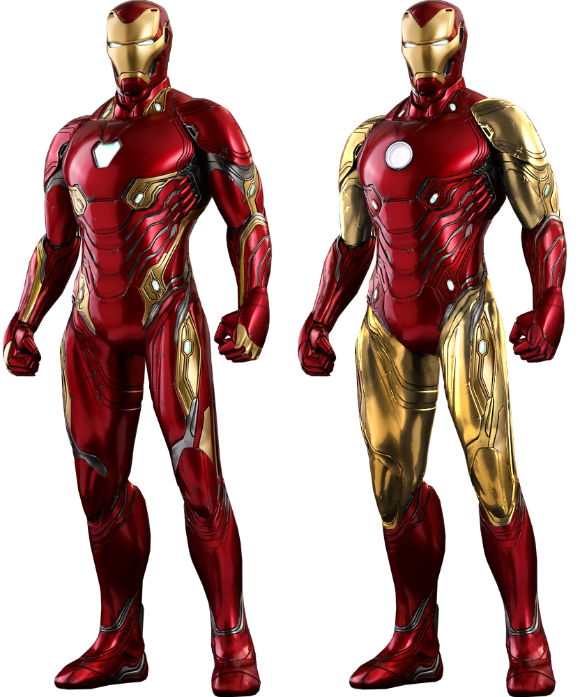 Ironman full body png. Iron man classic with