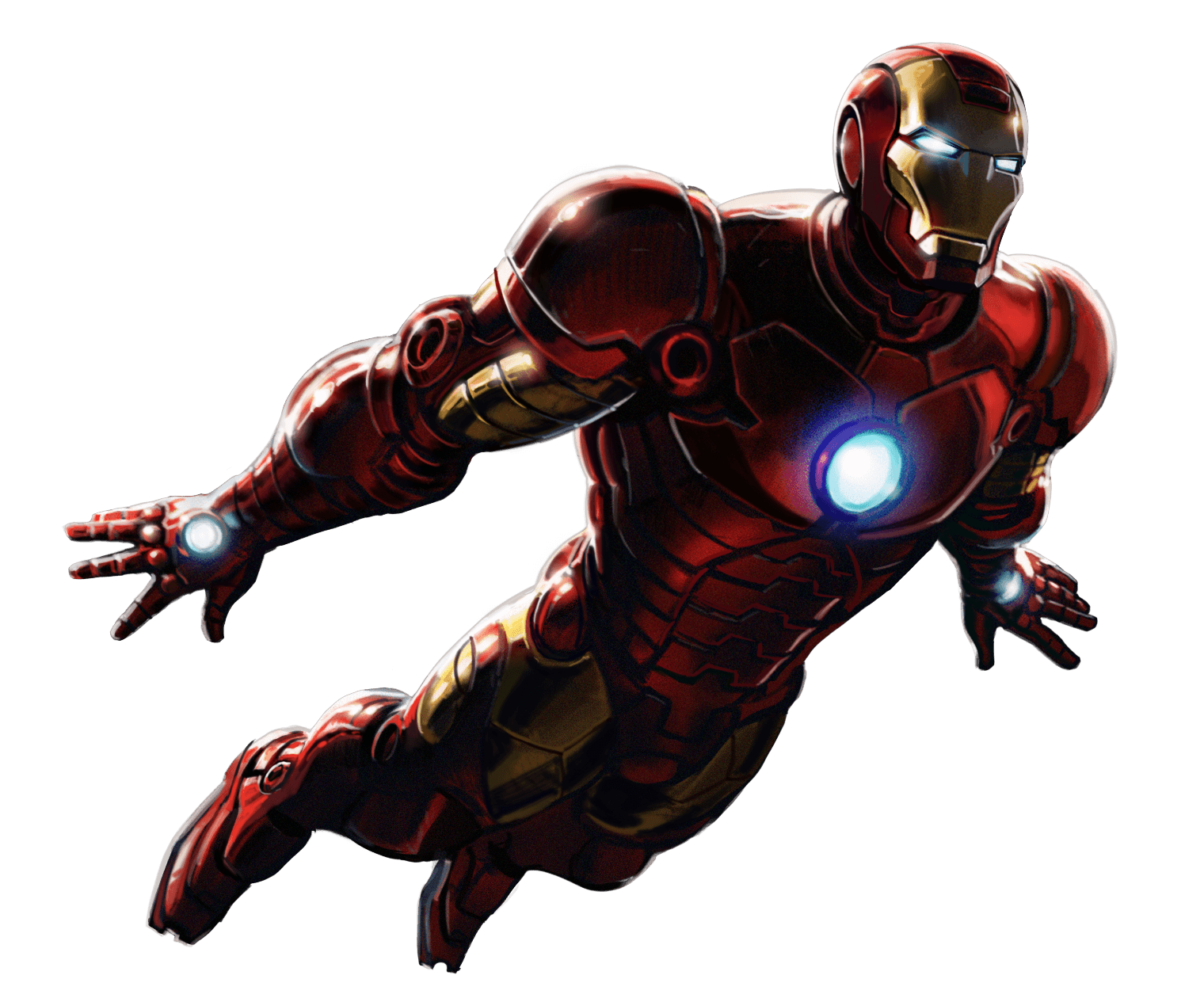 iron man flying png