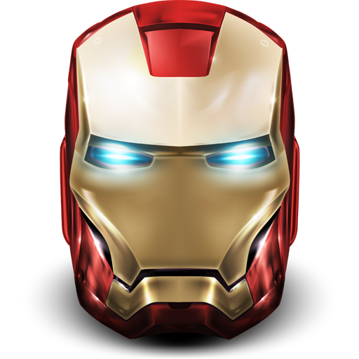 Ironman mask png. Classic helmet icon iron