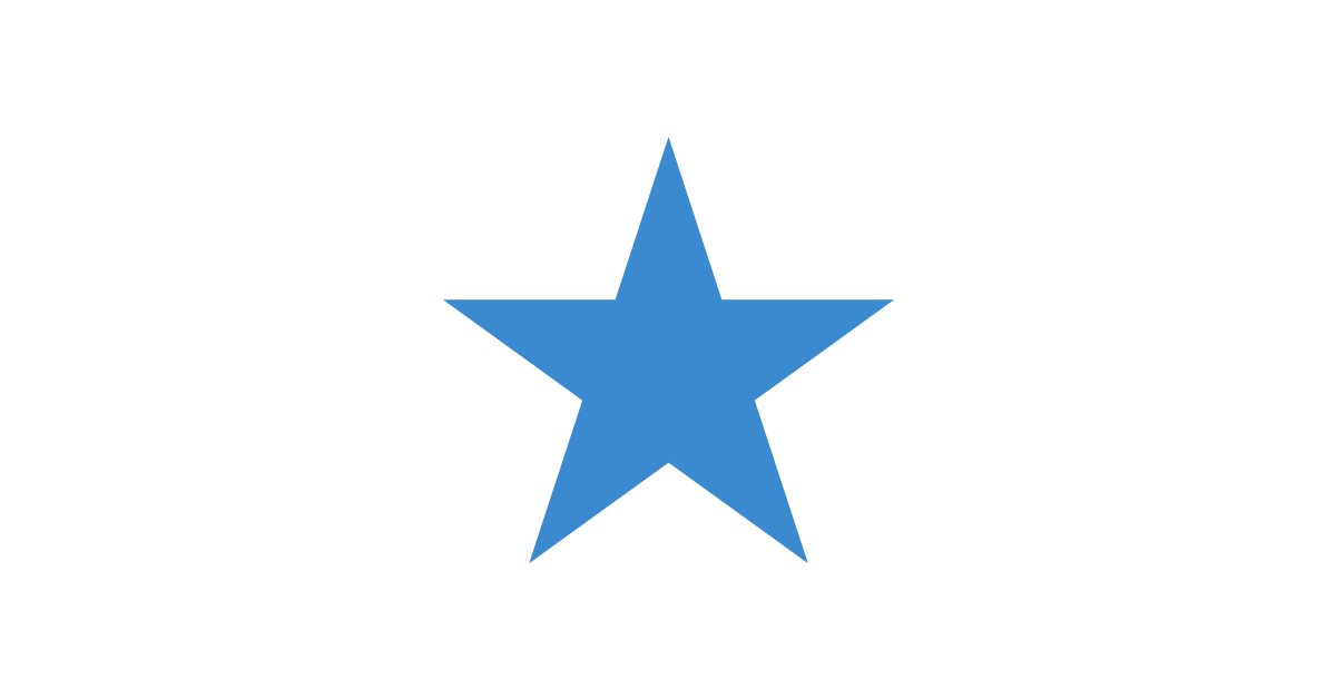 Is a png a vector file. Blue star and files