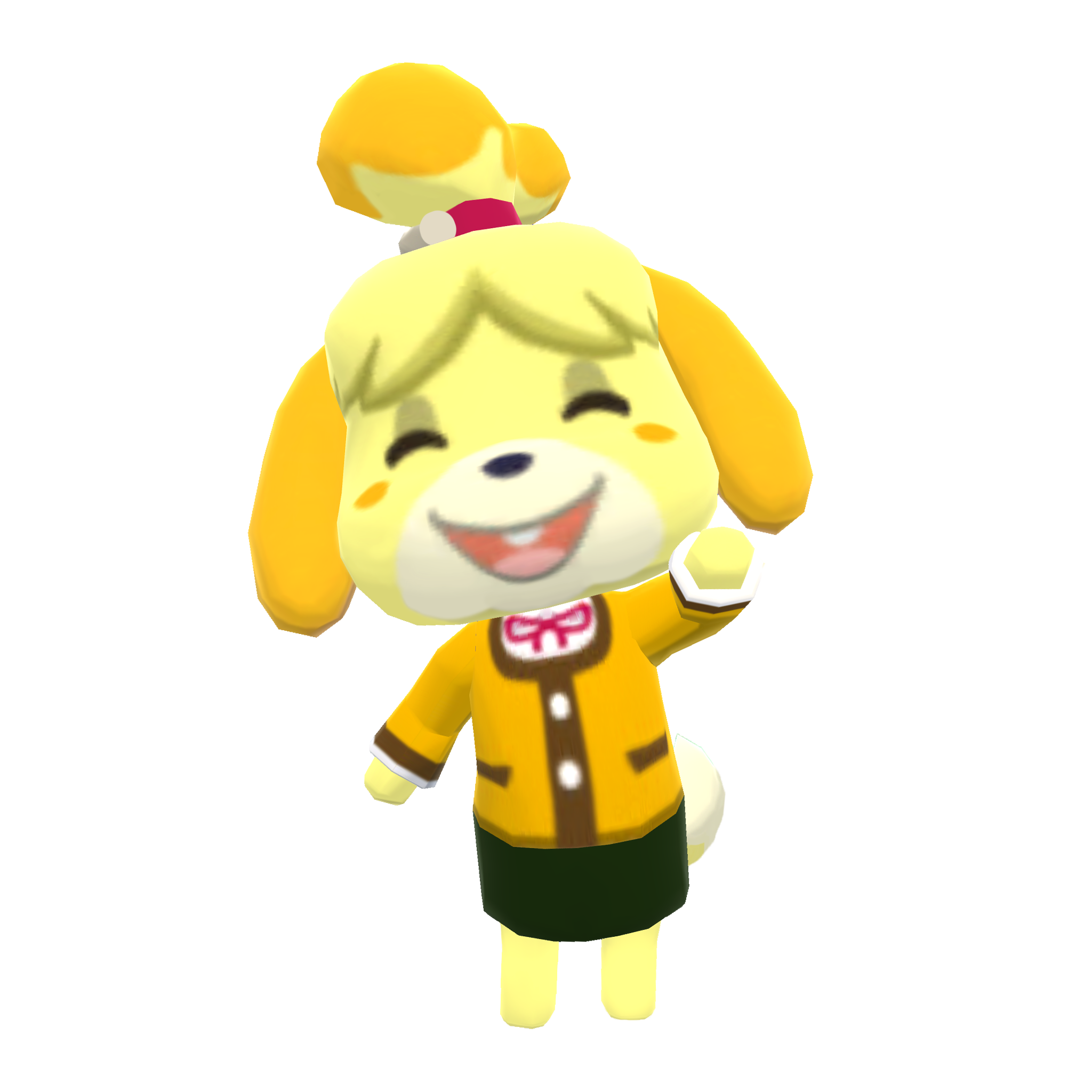 Animal Crossing Isabelle Transparent Png Clipart Free Download Ywd