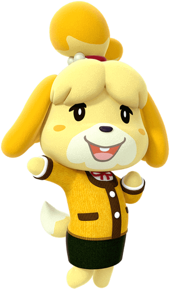 Animal crossing isabelle png. The official home for