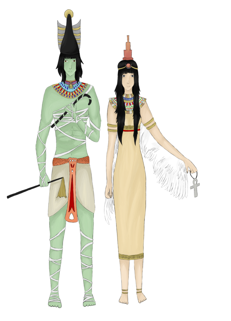 Isis drawing deviantart. Osiris and by lilith