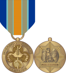 Isis drawing marine. Inherent resolve campaign medal