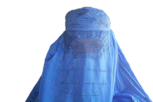 Islam drawing burka. Redesigning the afghan burqa