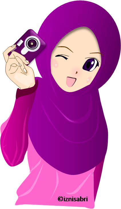 Islam drawing head scarf. Try different style its
