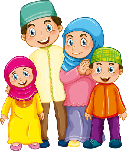 Islam drawing islamic family. Png clipart pinterest