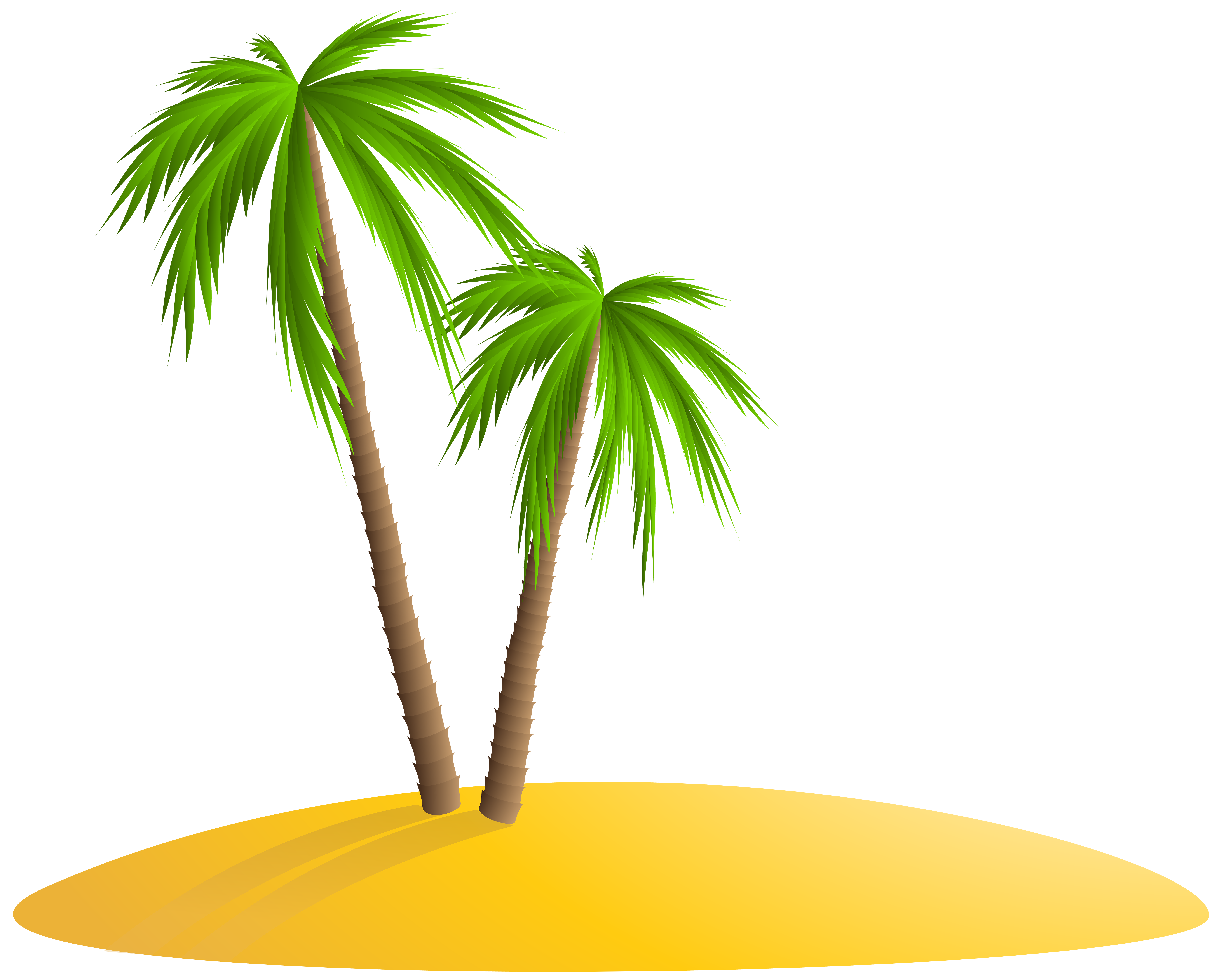 island clipart tropical island