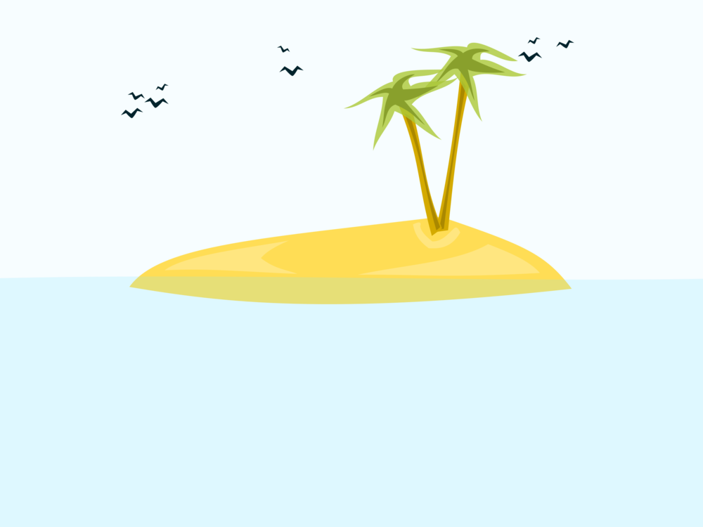 Drawing marker beach. Computer icons island cartoon