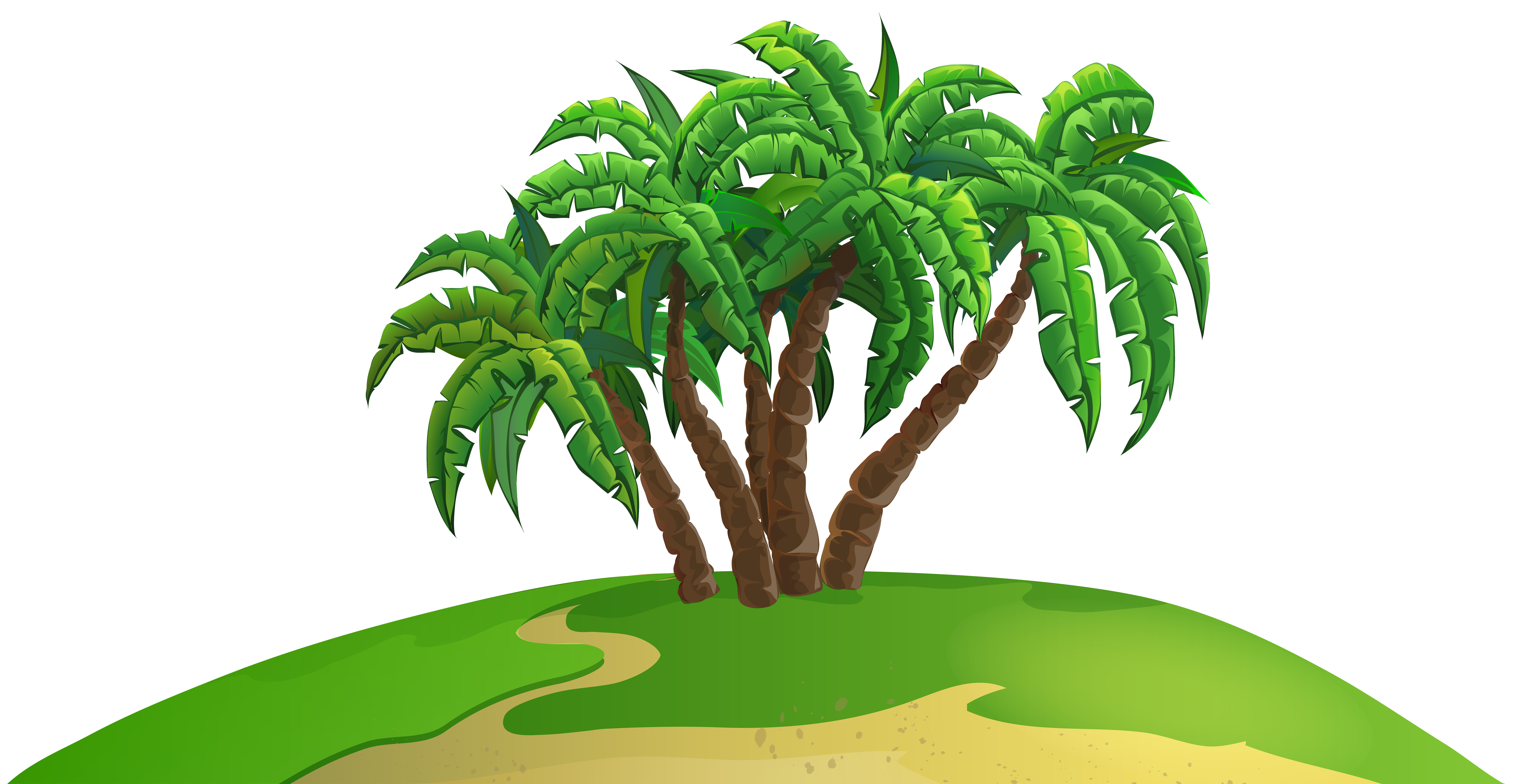 Island clipart png. Palm clip art image