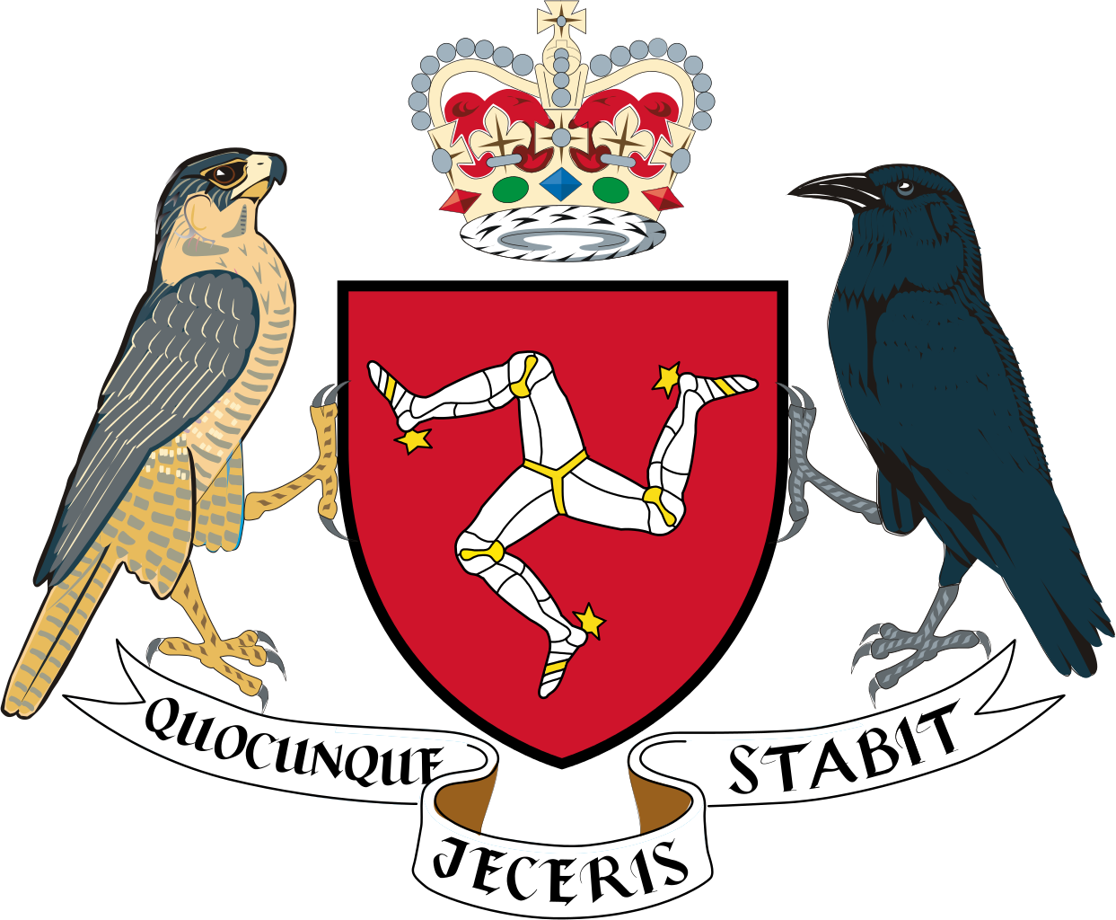 Isle of man arms png. File coat the svg