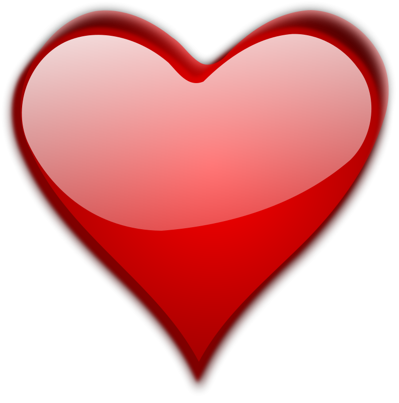Vector hd red background. Heart free stock photo