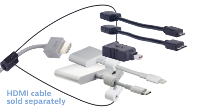 Isomax clip kinetics. K cable adapters