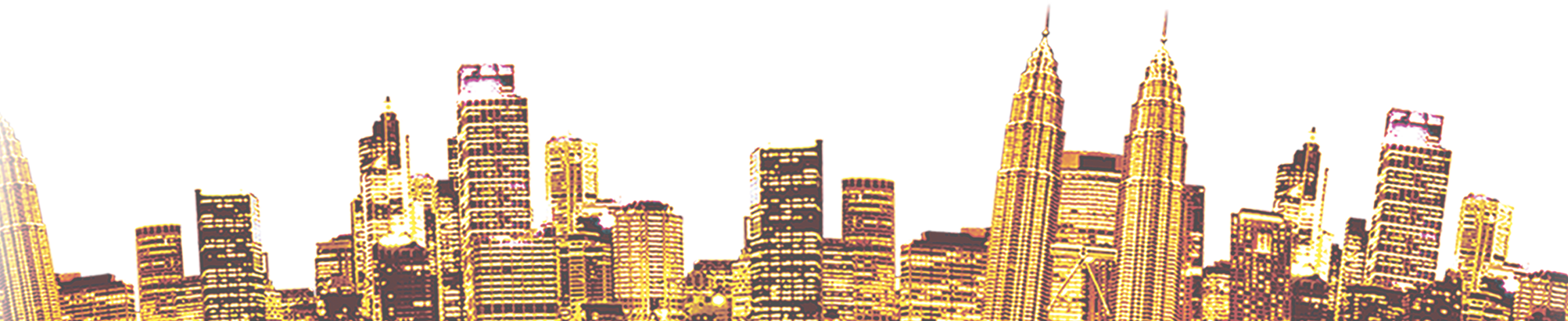 Isomia skyscraper silhouette png. Building city gold material