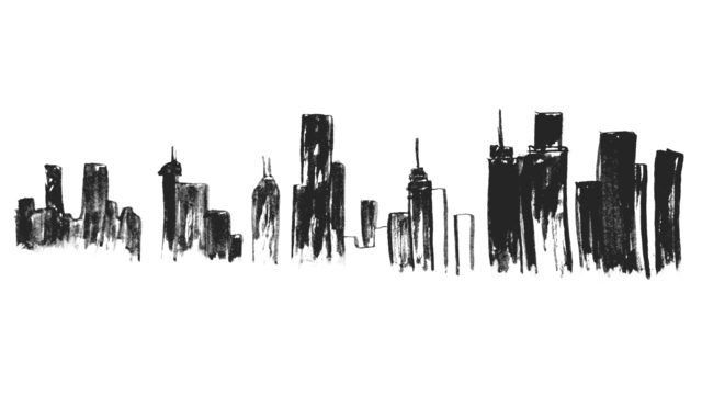 Isomia skyscraper silhouette png. Knight time tumblr