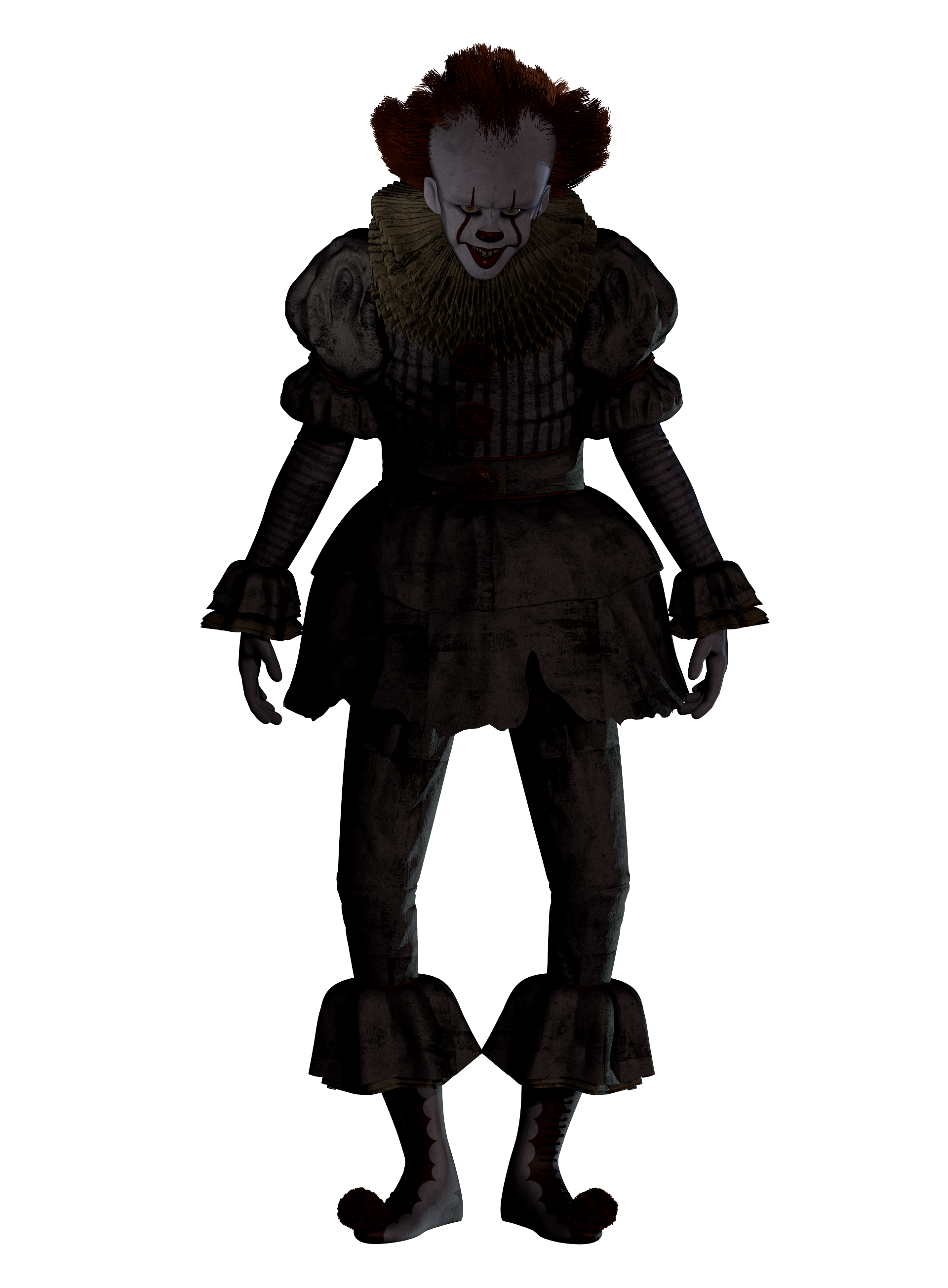 pennywise clown png