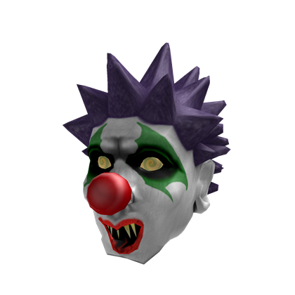 Image creepy roblox wikia. Evil clown png vector free
