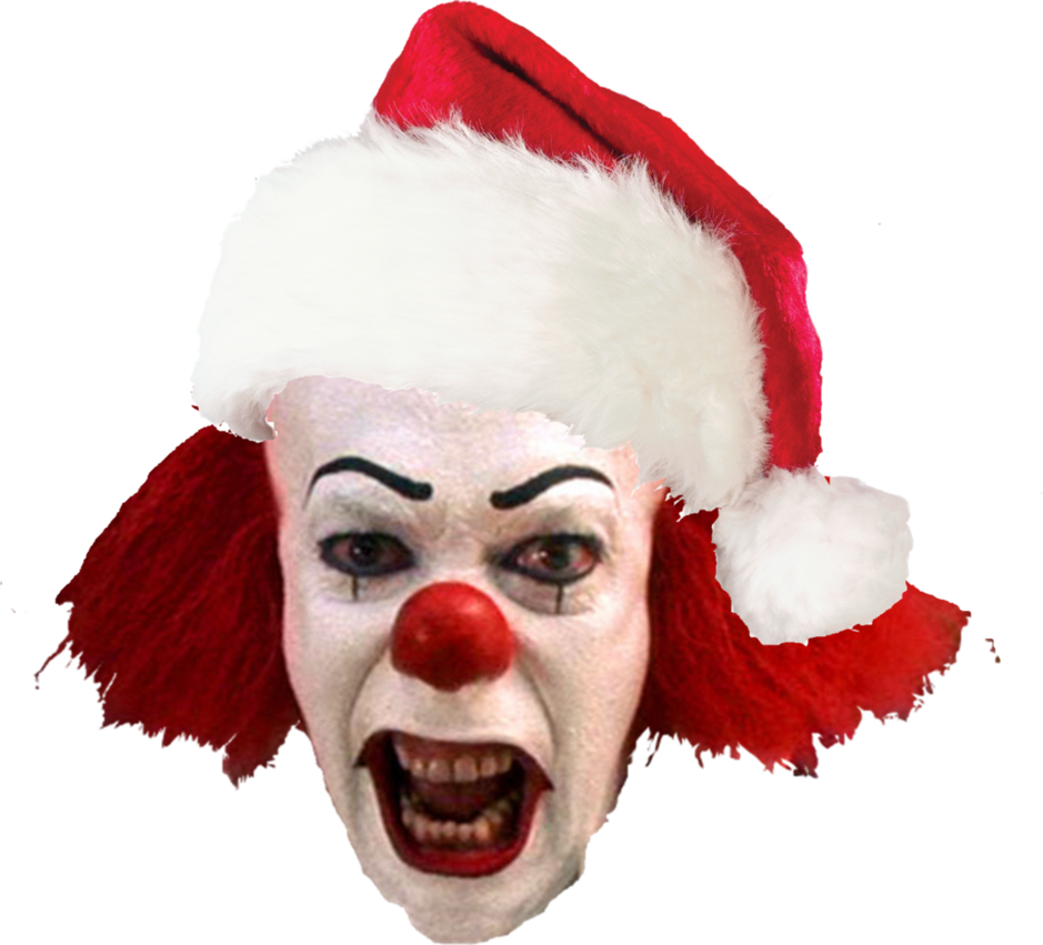 It clown png. Merry christmas from isles
