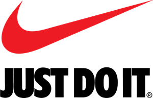 Swooshes vector svg. Nike just do it