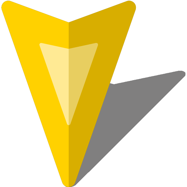 It vector simple. Location map pin icon