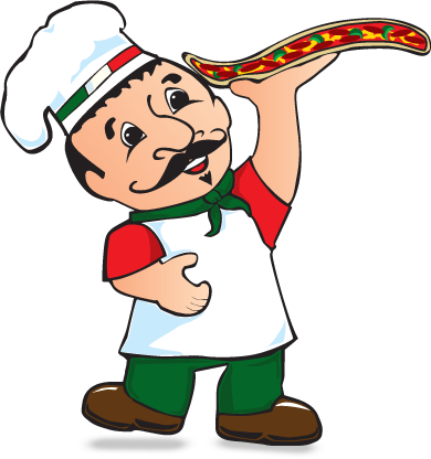Italian clipart chef holding pizza. Italy at getdrawings com