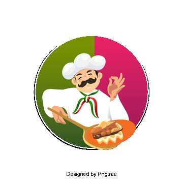 Png images vectors and. Catering clipart pizza chef transparent download