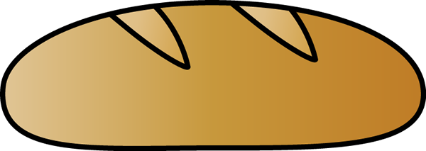 Loaf of clipart. Free french bread cliparts