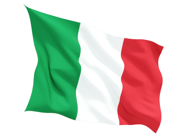 Italian flag png. Classic transparent stickpng download