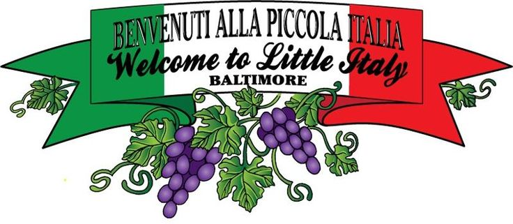 Italy clipart little italy. Best baltimore s