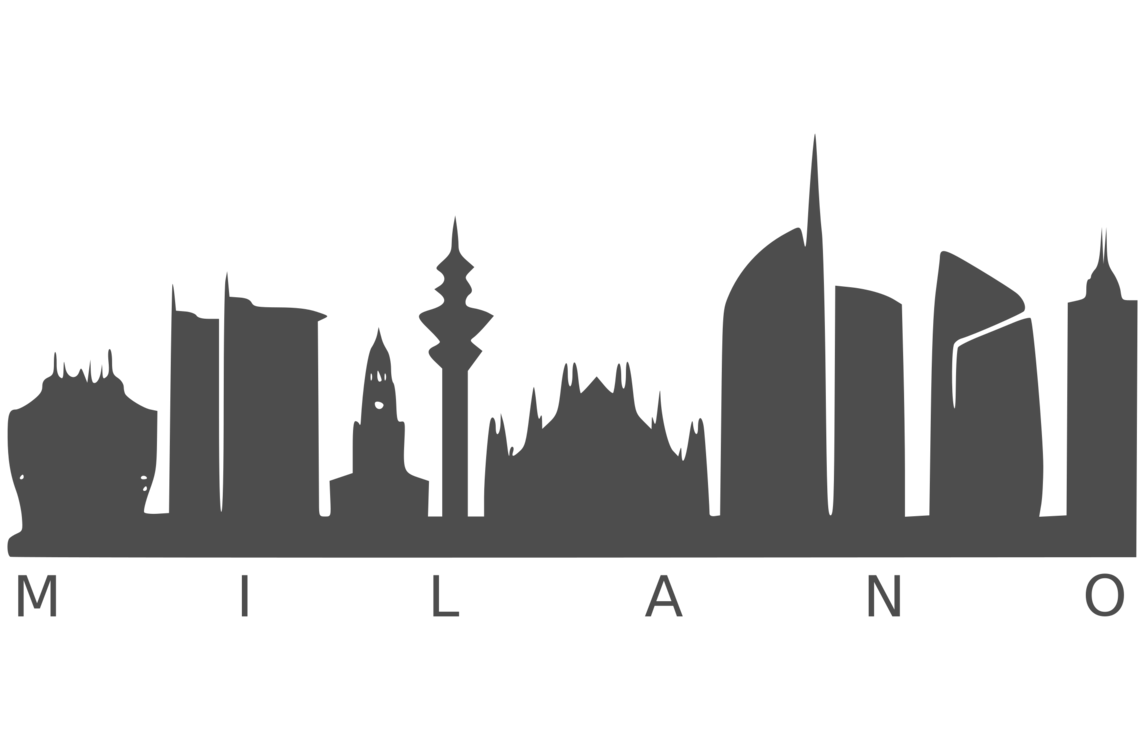Italy clipart skyline. Icubed srl viveat silhouette