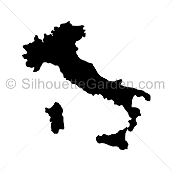 Italy clipart svg. Silhouette clip art download