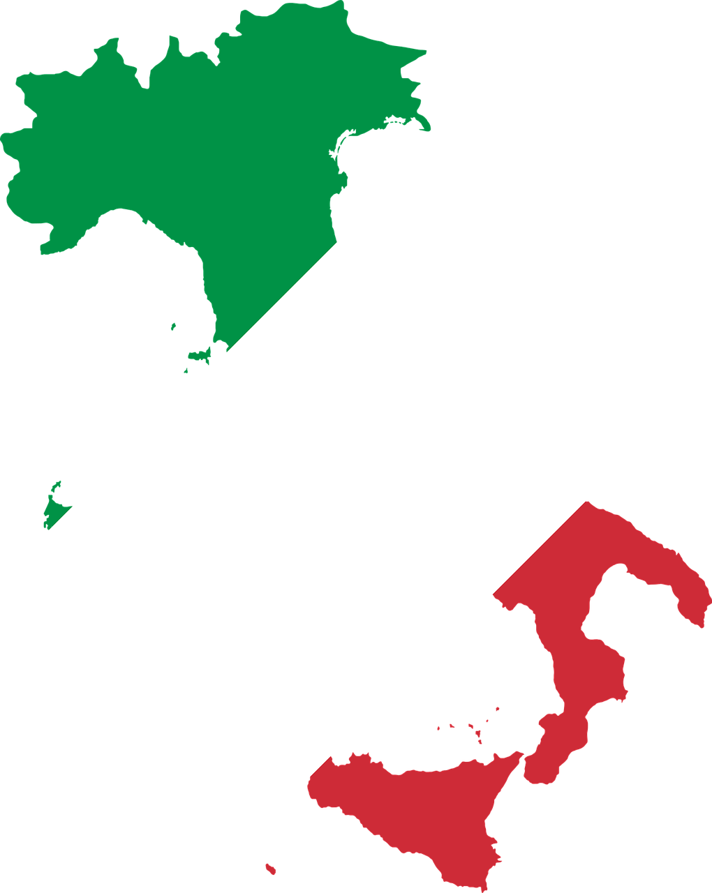 Italy country png. Europe flag borders