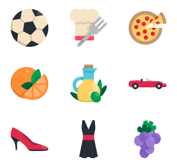 Italy country png. Icon packs vector