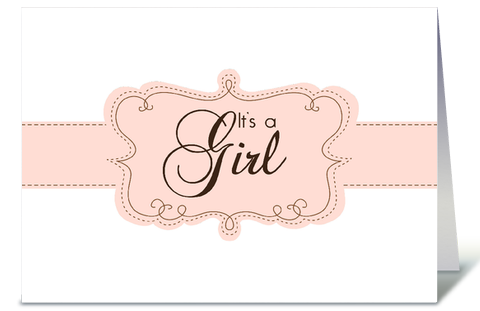 Its a girl png. It s birth announcement