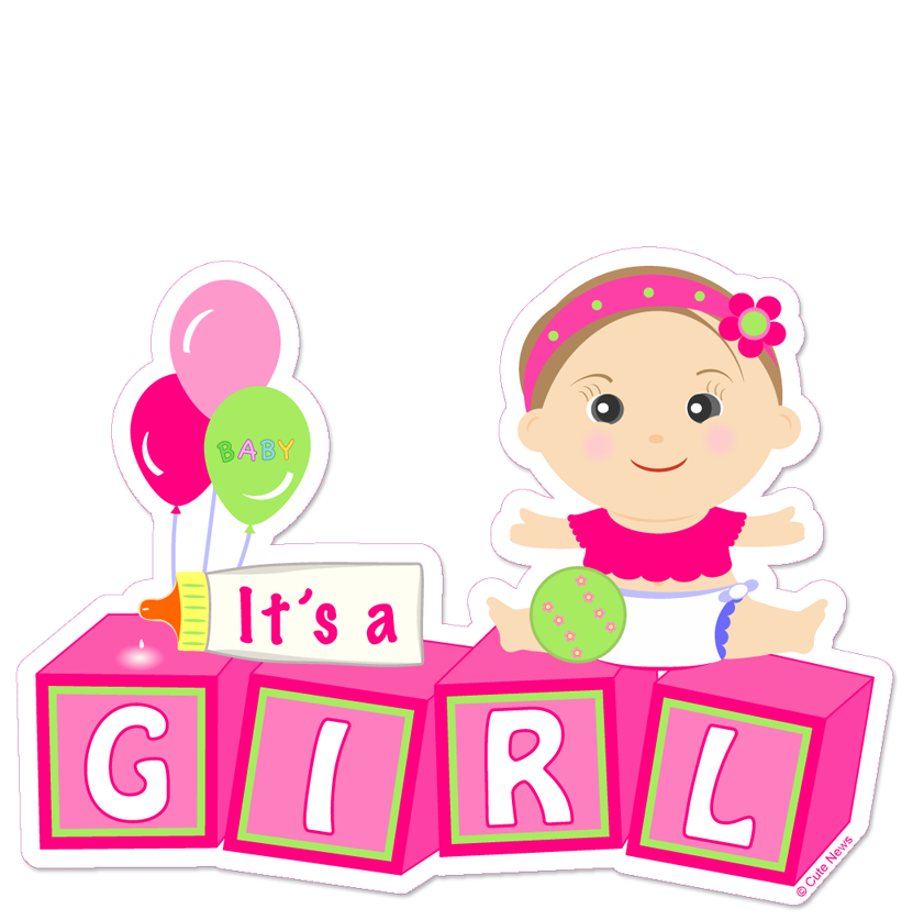 it's a girl png