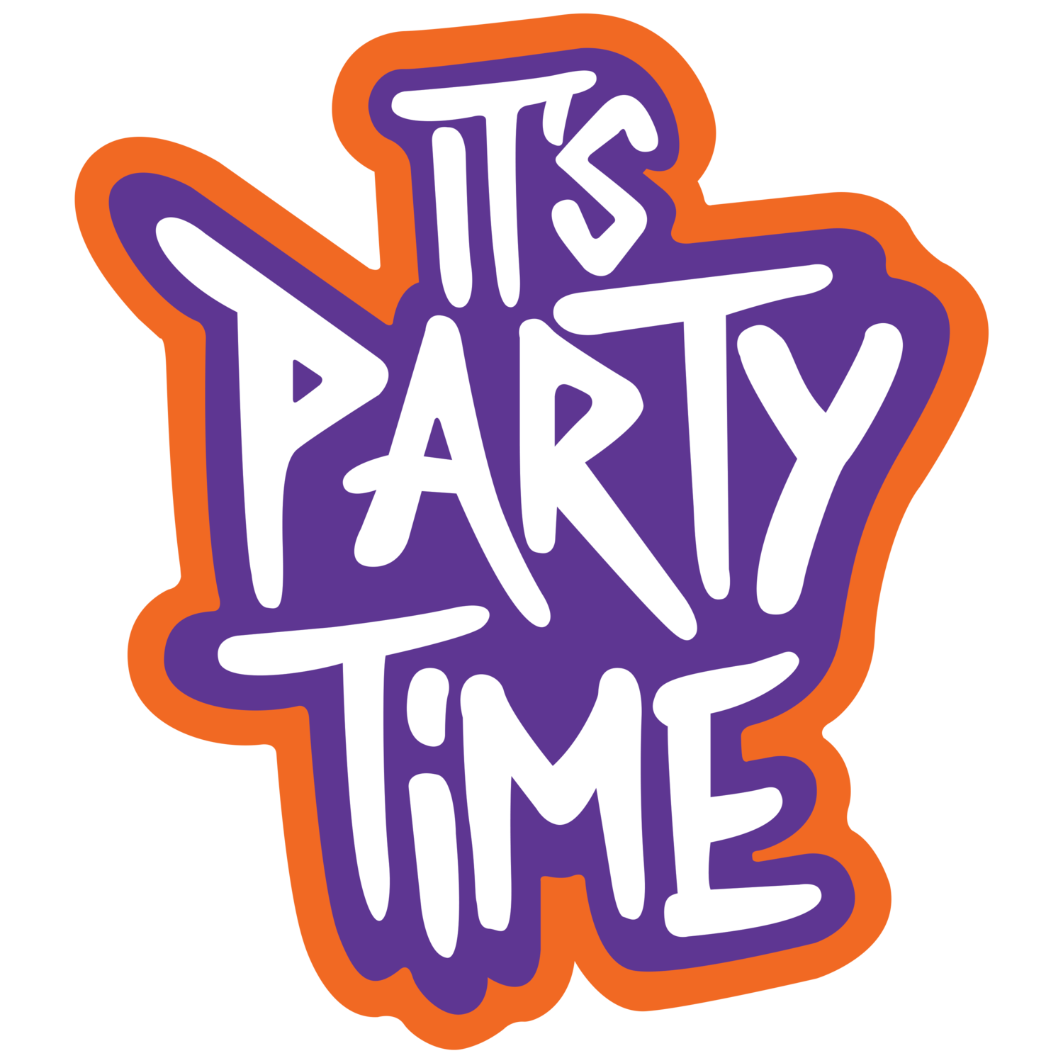 Its a party png. It s time