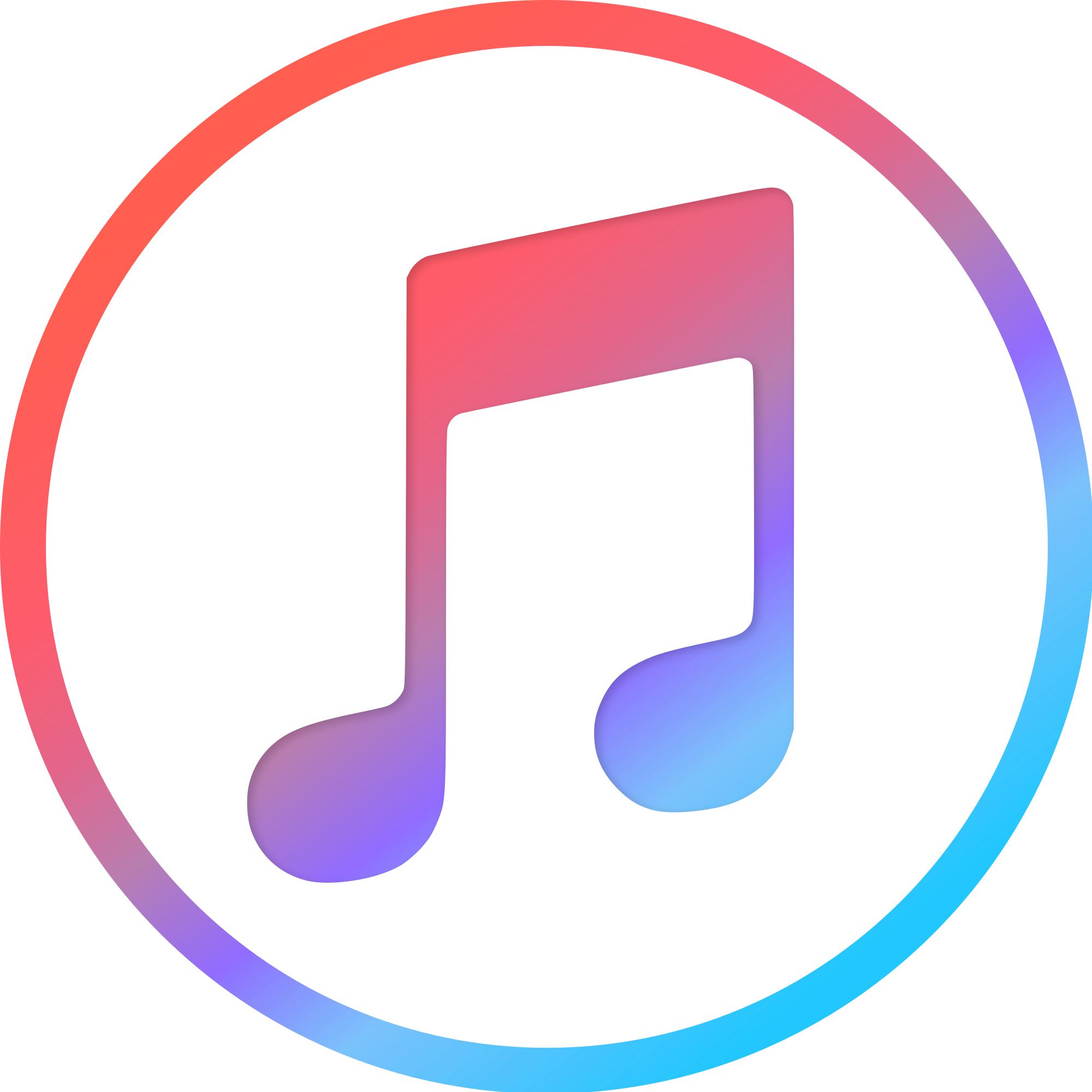 Itunes logo 2018 png. File svg wikimedia commons