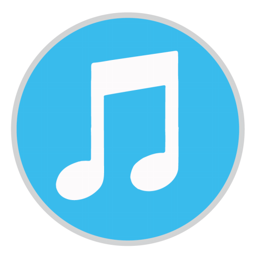 Itunes png icon. Mac stock apps iconset
