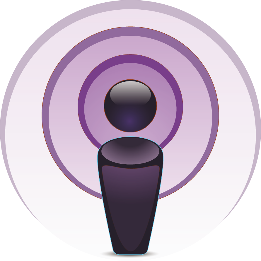 itunes podcast logo png