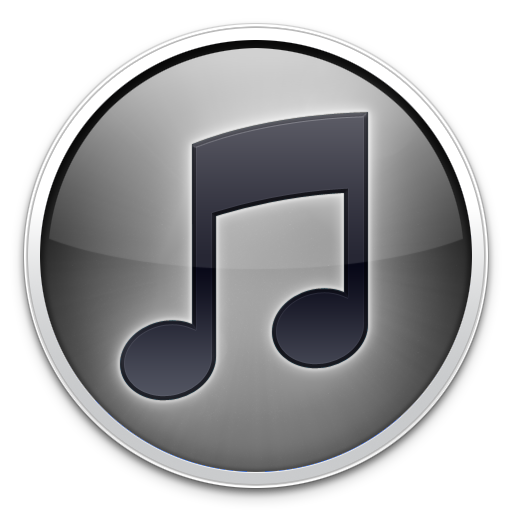 Itunes white logo png. Grey icon by thearcsage