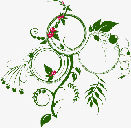 Ivy clipart curved. Green plants bending plant