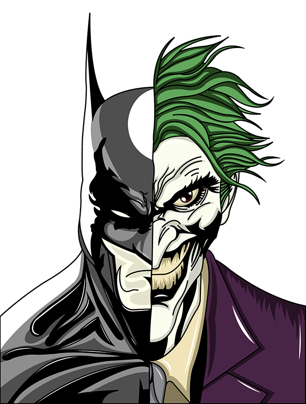 J drawing joker. Batman on wacom gallery