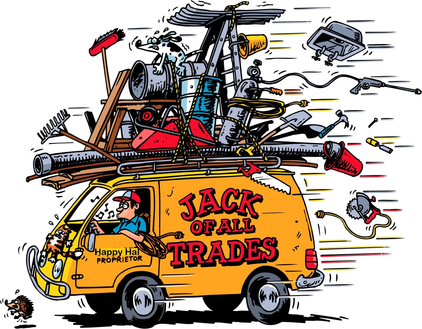 Jack clipart all trade. Of trades or master