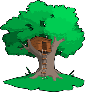 enchanted drawing tree house