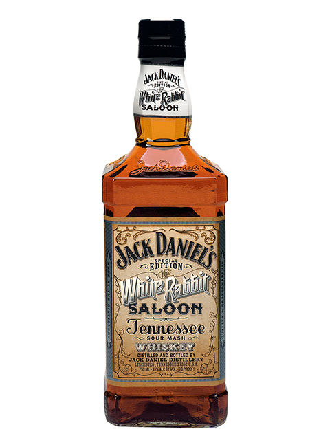 Whiskey drawing jack daniels bottle. Limited and special edition