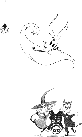 Zero drawing nightmare before christmas. The christmasdisneystore art
