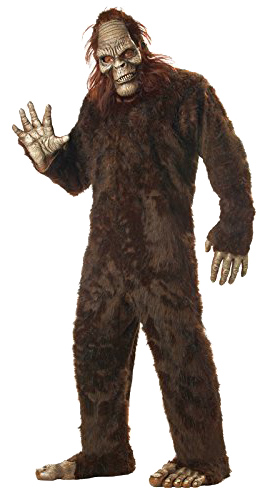 scary bigfoot png