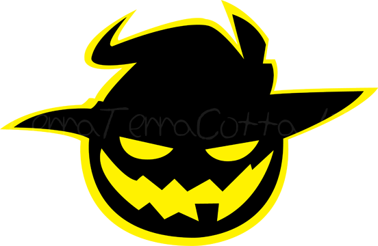 Jack o lantern face png. Emblem by terraterracotta on