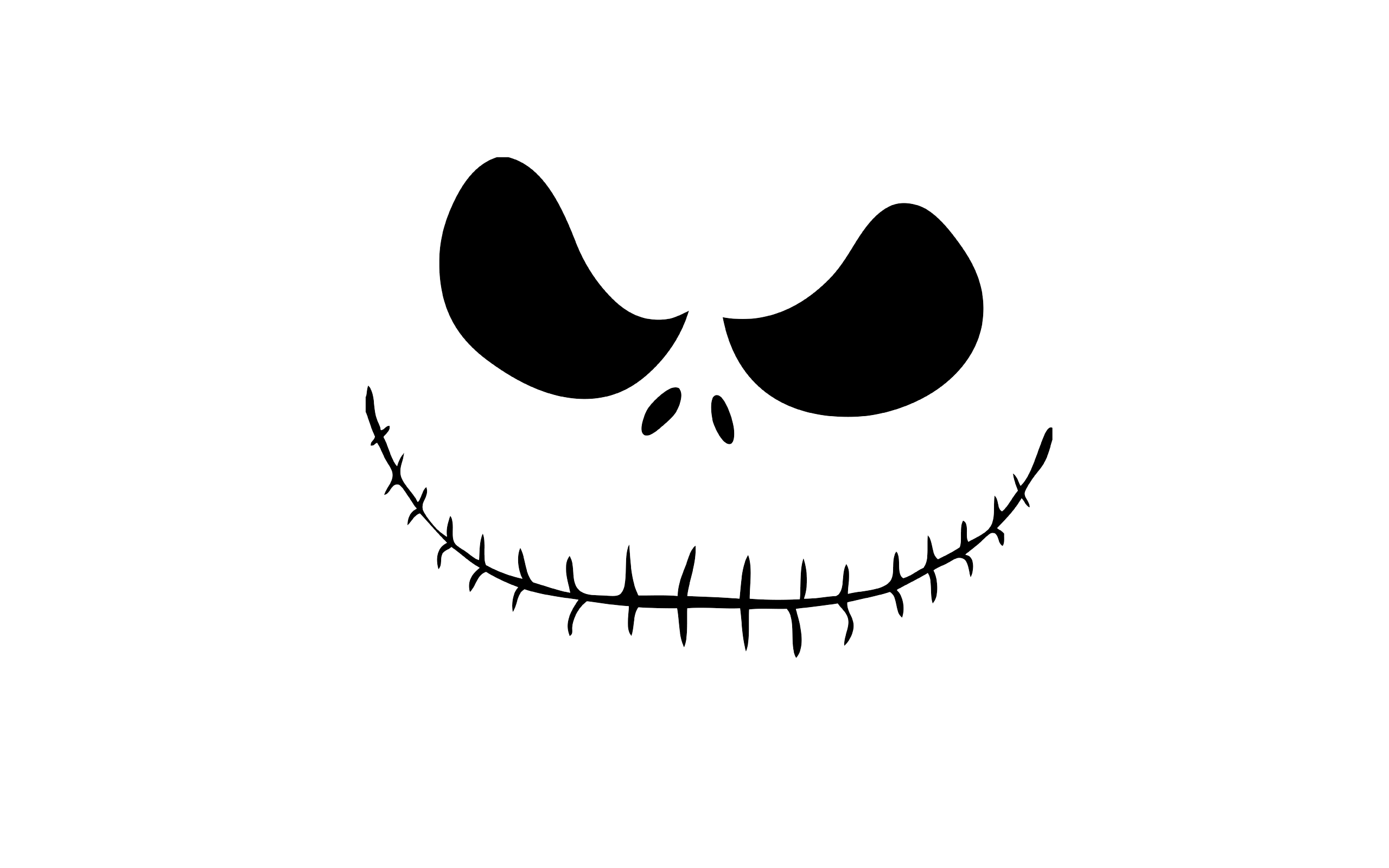 Nightmare Before Jack Skellington Transparent Png Clipart