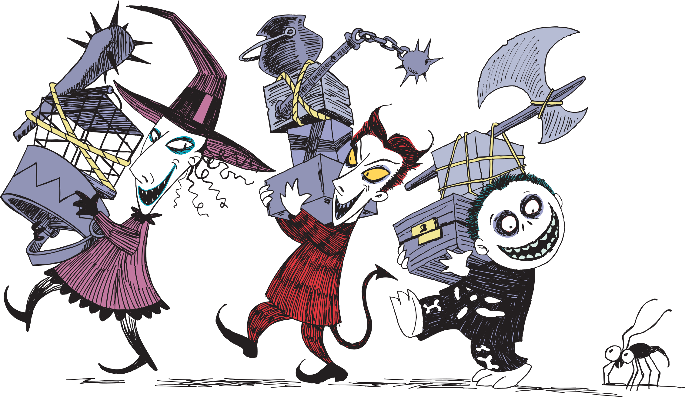 character transparent nightmare before christmas